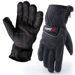 Tuzo Arctic Leather Motorcycle Gloves