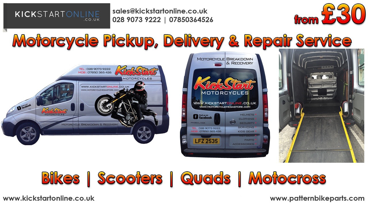 kickstart motorcycles new and used scooters and bikes in belfast n i. Black Bedroom Furniture Sets. Home Design Ideas